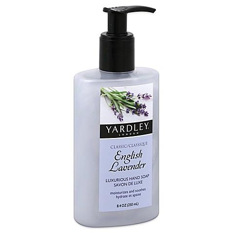 Yardley 8 4 Oz Liquid Soap In English Lavender Bed Bath