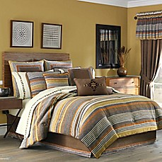 image of J. Queen New York™ Montaneros Comforter Set in Rust