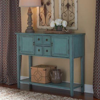 image of Duplin Console Table in Blue