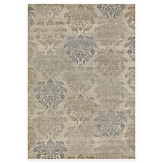 image of Concord Global Lumina Damask Rug