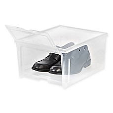 image of IRIS® Clear Men's Shoe Box