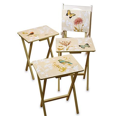 Nature\u0026#39;s Wonders 5-Piece Snack Table Set  sc 1 st  Bed Bath \u0026 Beyond & Nature\u0027s Wonders 5-Piece Snack Table Set - Bed Bath \u0026 Beyond