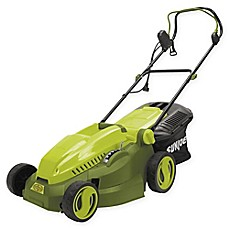 image of Sun Joe® 15-Inch Corded Electric Lawn Mower/Mulcher in Green