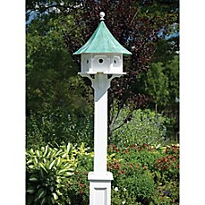 image of Good Directions Carousel Bird Feeder with Roof