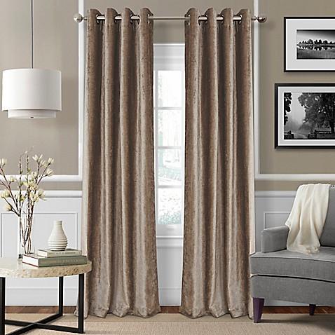 Elrene Victoria Room Darkening Grommet Top Window Curtain