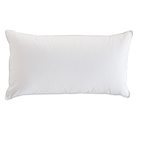 The pillow barr feather down side sleeper pillow bed for Best pillow for side sleepers bed bath and beyond