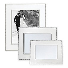 image of Reed & Barton® Lyndon Silver-Plated Picture Frame
