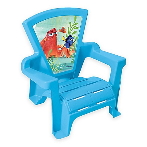 Disney 174 Finding Dory Adirondack Chair In Blue Bed Bath