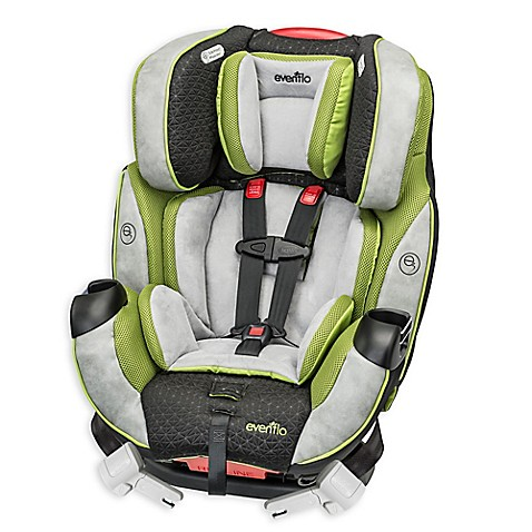 evenflo symphony dlx all in one car seat in grey green bed bath beyond. Black Bedroom Furniture Sets. Home Design Ideas