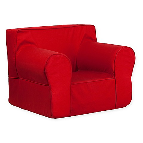 Buy flash furniture oversized solid kids chair in red from for Oversized kids chair