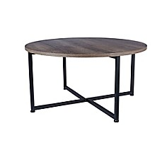 image of Household Essentials® Ashwood Round Coffee Table