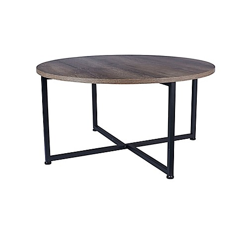 Household Essentials 174 Ashwood Round Coffee Table Bed