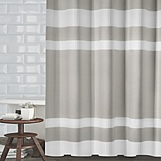 image of Ravello Textured Stripe Shower Curtain