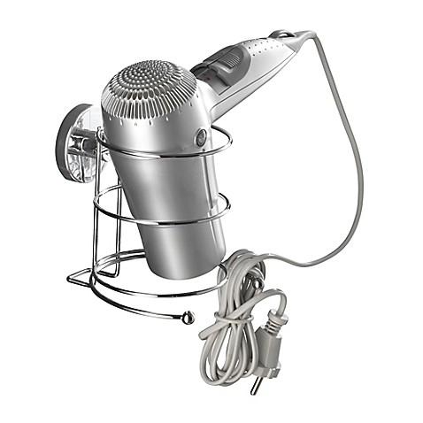 wenko milazzo vacuum loc hair dryer holder in chrome bed bath beyond. Black Bedroom Furniture Sets. Home Design Ideas