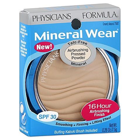 Physicians formula mineral wear pressed powder