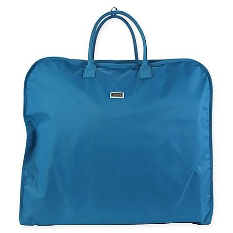 Buy hadaki nylon garment bag in ocean solid from bed bath for Wedding dress garment bag for air travel