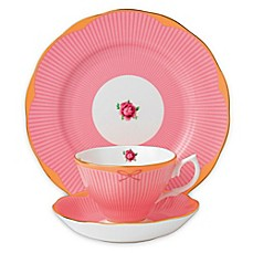 image of Royal Albert Candy Sweet Stripe 3-Piece Place Setting