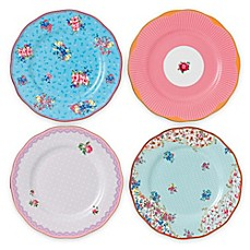 image of Royal Albert Candy Salad Plates (Set of 4)