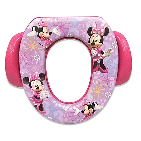 Disney 174 Soft Potty Trainer Seat In Minnie Mouse Buybuy Baby