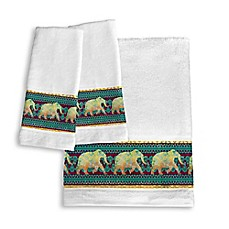 image of Laural Home® Marrakesh Hand Towels (Set of 2)
