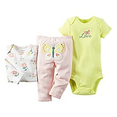 image of carter's® 3-Piece Babysoft Butterfly