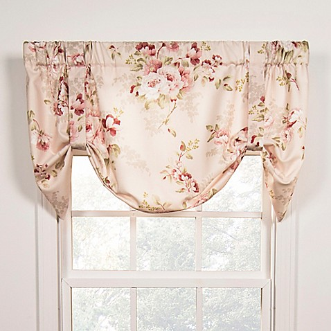 Chatsworth Tie Up Window Valance Bed Bath Amp Beyond