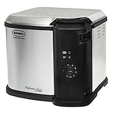 image of Masterbuilt Butterball® Indoor 14 lb. Analog Electric  Fryer in Stainless Steel