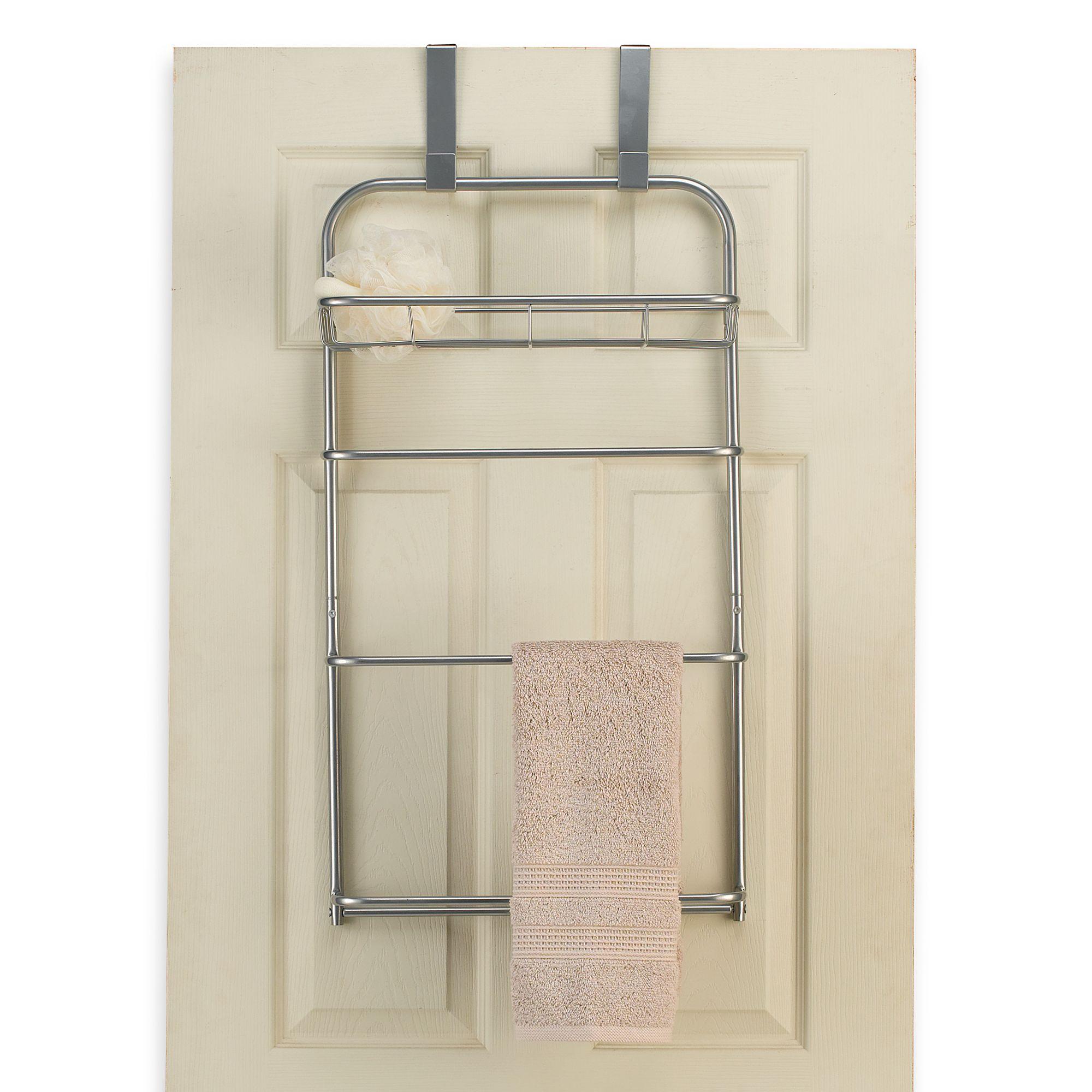 bath towel racks stands holders warmers bed bath beyond image of lina over the door towel bars