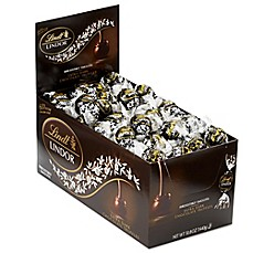 image of Lindt LINDOR 60%  Extra Dark Truffles 120pc Box