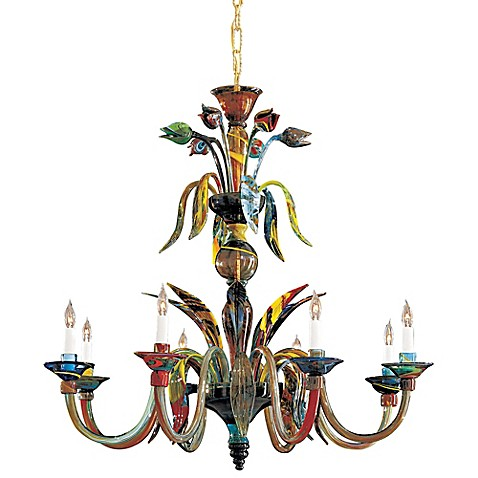 Metropolitan® Lighting Fixture Company 8-Light Camer Chandelier