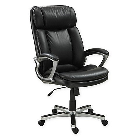 Serta 174 Executive Big Amp Tall Office Chair Bed Bath Amp Beyond