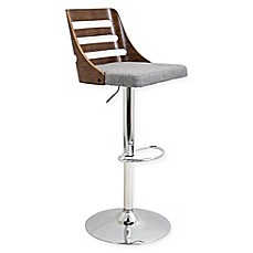 image of Lumisource Trevi Swivel Barstool