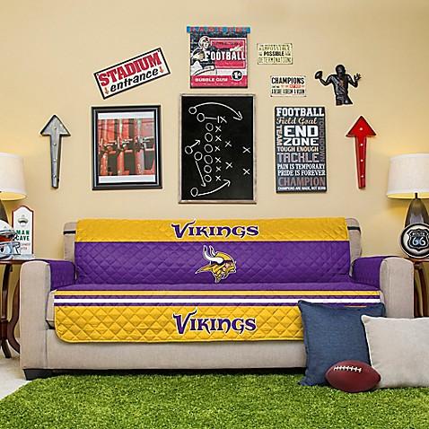 Nfl Minnesota Vikings Sofa Cover Bed Bath Amp Beyond