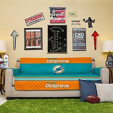 Image Of Nfl Miami Dolphins Sofa Cover