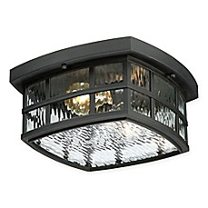 image of Quoizel® Stonington Flush Mount Ceiling Lanterns