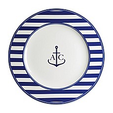 image of Caskata Beach Towel Stripe Charger Plate