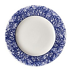 image of Caskata Peony Charger Plate in Blue