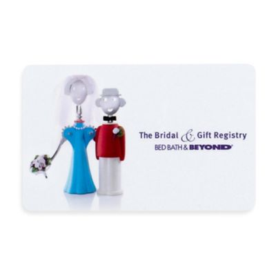 The Bridal Gift Registry Couple Gift Card Bed Bath Beyond