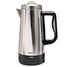 image of Capresso® Perk 12-Cup Percolator in Polished Stainless Steel