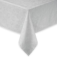image of Garnier-Thiebaut Mille Pensees Damask Tablecloth