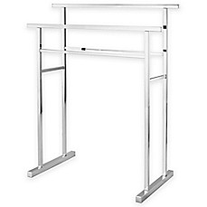 Image Of Kingston Brass 2 Tier Freestanding Towel Rack
