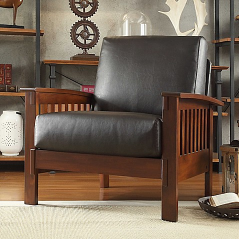 Buy verona home brixton mission arm chair in brown from for Minimalist house brixton
