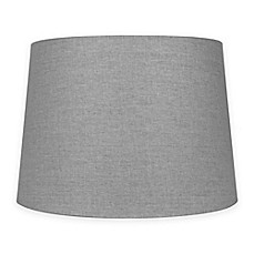 image of Mix & Match Medium 14-Inch Lamp Shade in Grey
