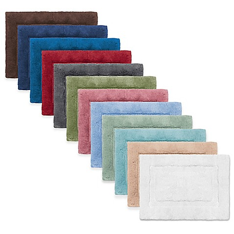 Wamsutta Luxury Border Plush Microcotton Bath Rug Bed Bath Beyond