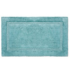 Image Of Wamsutta® Luxury Border Plush MicroCotton Bath Rug
