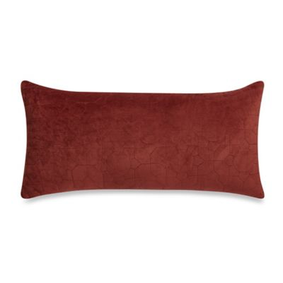 Elisha Oblong Throw Pillow in Cream/Pink - Bed Bath & Beyond