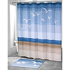 image of Avanti Seagulls Shower Curtain