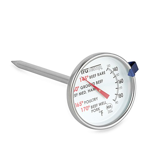 Trutemp 174 Meat Cooking Thermometer Bed Bath Amp Beyond
