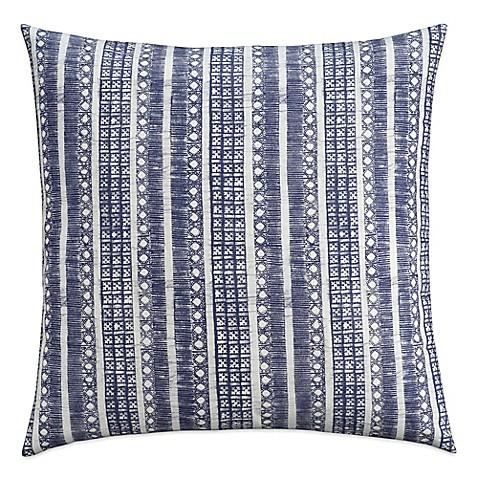 Cupcakes And Cashmere Indigo Stripe European Pillow Sham