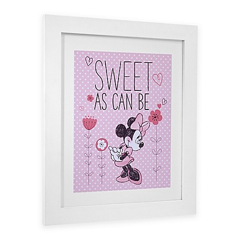 Disney Minnie Mouse Hello Gorgeous Framed Wall Art